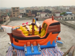 Inflatable Pirate Boat Bouncer