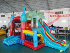Fantastic 4 In 1 Inflatable Mini Bouncer Combo