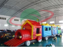 Custom Inflatables Inflatable Train Maze And Tunnel Games For Kids