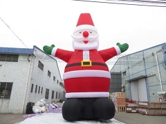 Customized 12m Inflatable Santa Claus