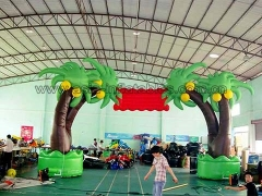 Hot Selling Party Inflatables New Design Custom Tree shape Inflatable Arch for advertising or opening in Factory Price
