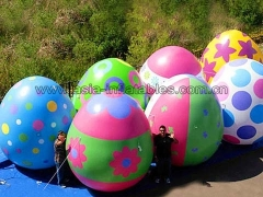 Hot Selling Party Inflatables Custom print inflatable advertising egg balloon giant inflatable easter eggs for festival decoration in Factory Price