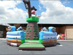 Pirate Mountain Climb,Inflatable Rock Climbing Wall & Customized Yours Today
