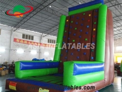 Customized Funny Sport Games Backyard Rock Climbing Wall Inflatable Climbing Wall For Sale